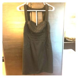 Rampage Little Black Dress with flattering details